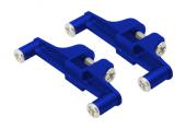 Blade 130 X - Aluminiowe mocowanie serwa ogonowego niebieskie RKH