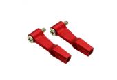 Blade 130 X - Aluminiowe ramiona DFC czerwone RKH