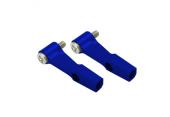 Blade 130 X - Aluminiowe ramiona DFC niebieskie RKH