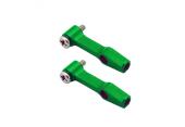 Blade 130 X - Aluminiowe ramiona DFC zielone RKH