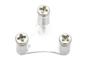 Blade mCP X BL - Aluminiowe mocowanie prowadnicy tarczy srebrne RKH