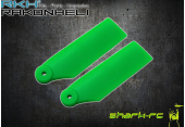 Blade 180 CFX - Łopatki ogonowe 34 mm zielone RKH