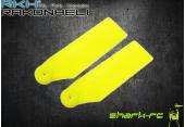 Blade 180 CFX -Łopatki ogonowe 34 mm żółte RKH