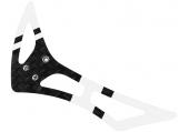 Blade 120 S - Statecznik pionowy biało-czarny karbonowy RKH