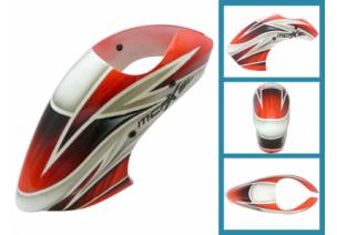 Blade mCP X BL - Kabina z włókna szklanego czerwona RKH