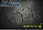 Blade 130X - Płozy podwozia białe