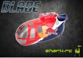 Blade 130 X Red Bull - Przednia obudowa