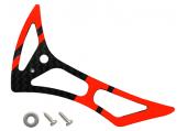 Blade 180 CFX - Statecznik pionowy czerwony karbonowy RKH