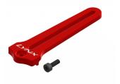 Blade 360 CFX - Prowadnica tarczy srebrna aluminiowa LYNX