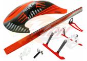 Blade 120 S - Belka ogonowa węglowa RKH