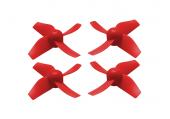 Blade Inductrix / Inductrix FPV - Komplet śmigieł przezroczystych czerwonych plastikowych RKH (4)