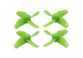 Blade Inductrix / Inductrix FPV - Komplet śmigieł zielonych plastikowych RKH (4)
