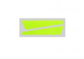 OXY 2 - Naklejki statecznika pinowego żółte