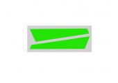 OXY 2 - Naklejki statecznika pionowego zielone