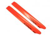 Blade 230 S - Łopaty główne 240 mm pomarańczowe plastikowe LYNX