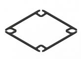 Blade inductrix - ramka karbonowa styl 2