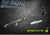 Blade mCP X BL - Belka ogonowa z mocowaniem silnika i śmigłem