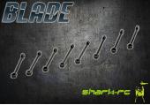 Blade mCP X BL - Cięgna głowicy wirnika (8)