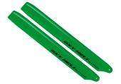 OXY 3 - Łopaty główne 250 mm zielone plastikowe