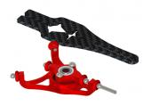 Blade Nano CP S / CP X - Tarcza sterująca V2 czerwona aluminiowa LYNX