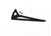 Blade 250 CFX / 230 S - Statecznik pionowy czarny karbonowy LYNX