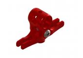 Blade Nano CP S / Nano CP X - Głowica czerwona aluminiowa LYNX