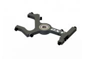 OXY 2 - Górny blok wału głównego czarny aluminiowy