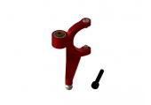 OXY 2 - Dźwignia sterowania wirnika ogonowego czerwona aluminiowa