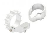 Blade mCP X BL - Aluminiowe mocowanie silnika ogonowego z radiatorem srebrne RKH
