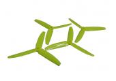 Komplet potrójnych śmigieł 5035 dwa lewe + dwa prawe żółte LYNX