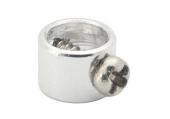 Blade mCP X BL / mCP X - Aluminiowy pierścień wału głównego srebrny RKH