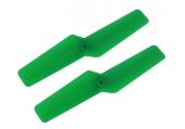 Blade mCP X BL - Śmigło ogonowe 47 mm zielone RKH