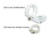 Blade Nano CP X - Aluminiowe mocowanie silnika ogonowego 6 mm srebrne RKH