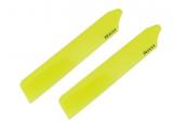 Blade Nano CP X - Łopaty główne Hi-performance 89 mm żółte RKH