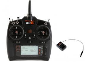 Nadajnik Spektrum DX6 DSMX Mode 1-4 + odbiornik AR610