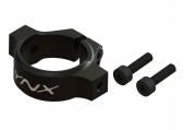 Mini Protos - Mocowanie podpór ogona czarne aluminiowe LYNX