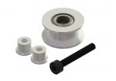 Mini Protos - Napinacz paska ogonowego srebrny aluminiowy LYNX