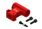 Mini Protos - Głowica DFC czerwona aluminiowa LYNX