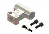 Mini Protos - Głowica DFC srebrna aluminiowa LYNX