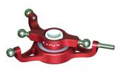 Blade CX 4 - Tarcza sterująca czerwona aluminiowa LYNX