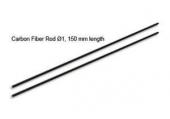 Blade mCP X - wałki węglowe podpór ogona RKH