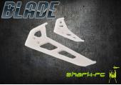 Blade 200 SR X - Stateczniki pionowy i poziomy