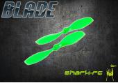 Blade Nano QX - Śmigło kierunek przec. zielone (2)