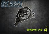 Blade 180 QX - Mocowanie silnika z płozami