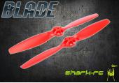 Blade 350 QX /2/3 - Śmigło czerwone 1x lewe, 1x prawe
