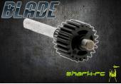 Blade 180 CFX - Zębatka, wał wirnika ogonowego