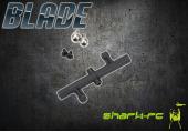 Blade 450 3D - Mocowanie stabilizatora