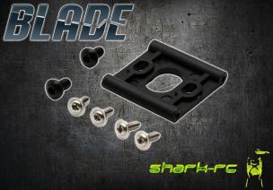 Blade 230 S V2 / 230 S - Mocowanie silnika głównego czarne plastikowe