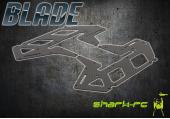 Blade 250 CFX / 300 CFX - Szkielet śmigłowca węglowy