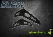 Blade 300 CFX / 300 X - Stateczniki pionowy i poziomy karbonowe